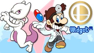 Dr. Mario & Mewtwo are back! Speedart by Widget14