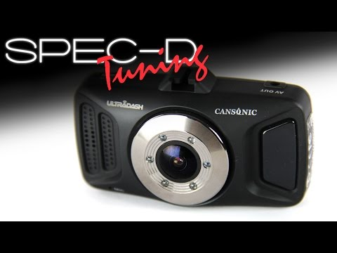 SPECDTUNING DEMO VIDEO: Full HD UltraDash Car Video Camera Record UD-310