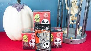 Nightmare Before Christmas Mystery Minis Vinyl Figures + Dogchain Halloween Surprises