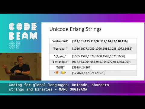 Coding For Global Languages Unicode, Charsets, Strings And Binaries - MARC SUGIYAMA