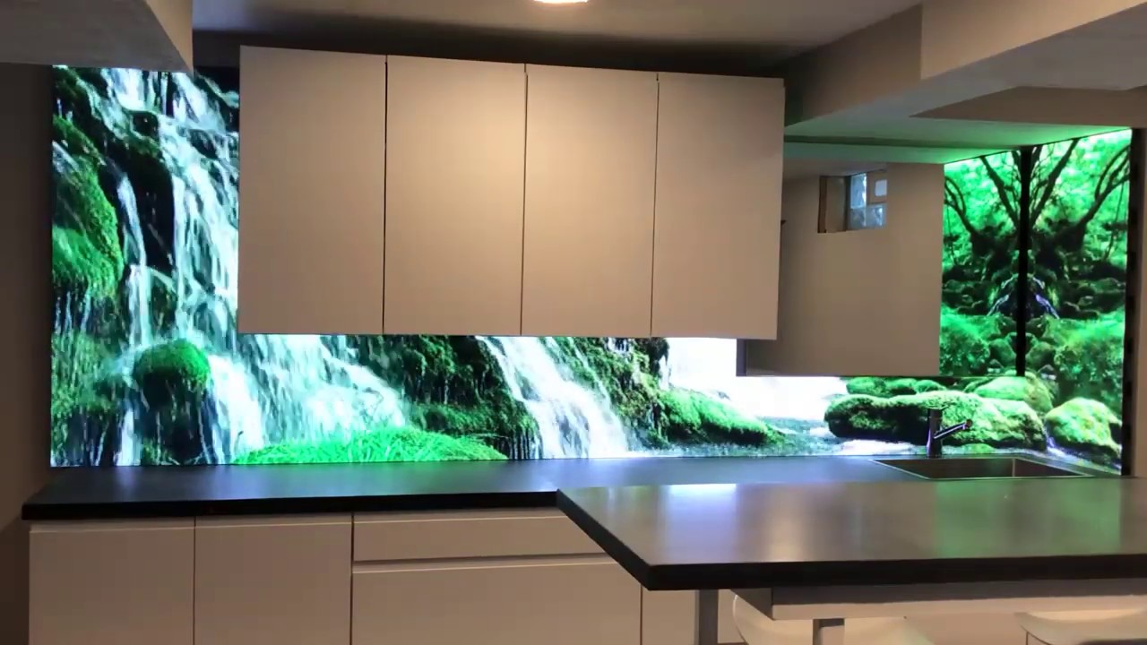 - Flashback LED Backsplash - YouTube