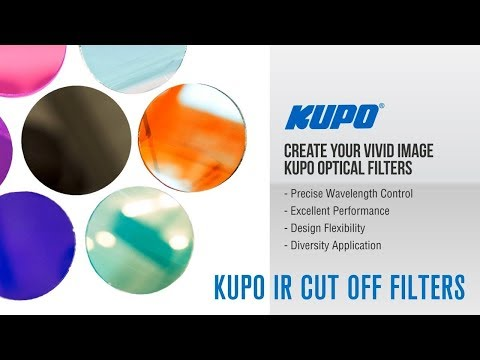 KUPO Hot Mirrors and IR Cut off Filters