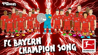 FC Bayern München Bundesliga Champions Song - Powered by 442oons