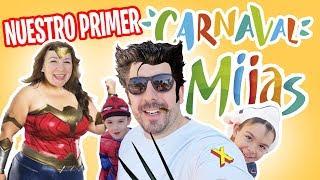 ¡¡CARNAVAL 24 horas!! en Mijas // Vlog en familia  // Familukis