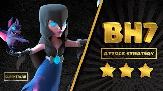 BH7 Attack Strategy 2018 | Night Witch Attack Strategy | Clash of clans