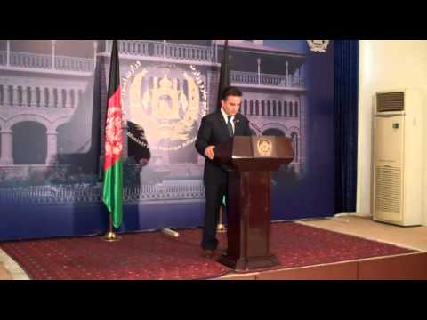 AFGHANISTAN: Foreign Office Press Conference on Refugees in Iran