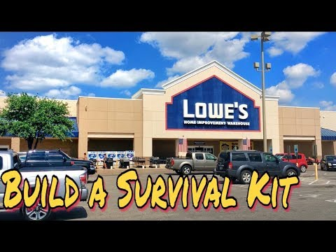 EDC / Survival Gear Shopping at Lowe's Home Improvement Store