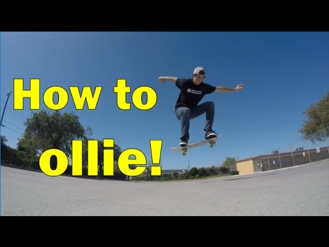 3.5: Ollie - Freestyle Skateboarding Lessons