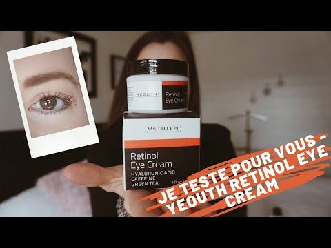 Je Teste Pour Vous Yeouth Retinol Eye Cream Youtube