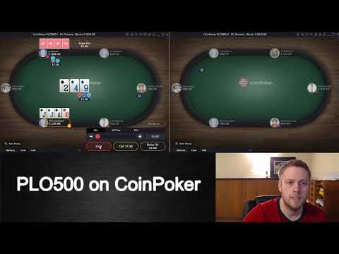 Crypto Currency Games On CoinPoker 1/2
