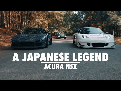 A Japanese Legend - Acura NSX