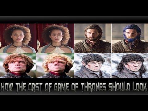 ตัวละครในGame of Thronesควรมีหน้าตาแบบไหนตามนิยาย[comic world daily [