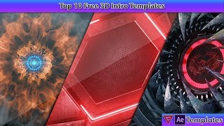 Top 10 3D Intro Templates for After Effects January 2019