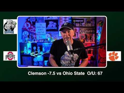 Clemson vs Ohio State 1/1/21 Free College Football Picks Sugar Bowl CFP Playoff Picks