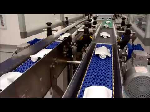 Cooling spiral conveyor for food products
