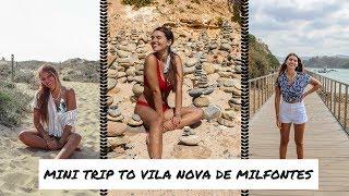 VLOG DAS MINHAS FÉRIAS #2 | EXPLORAR VILA NOVA DE MILFONTES | Vera Rosa