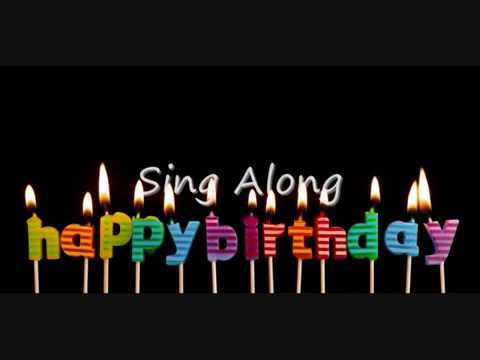 Happy Birthday - Sing Along - Chachacha - YouTube