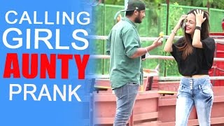 calling hot girls aunty prank by raj baap of bakchod
