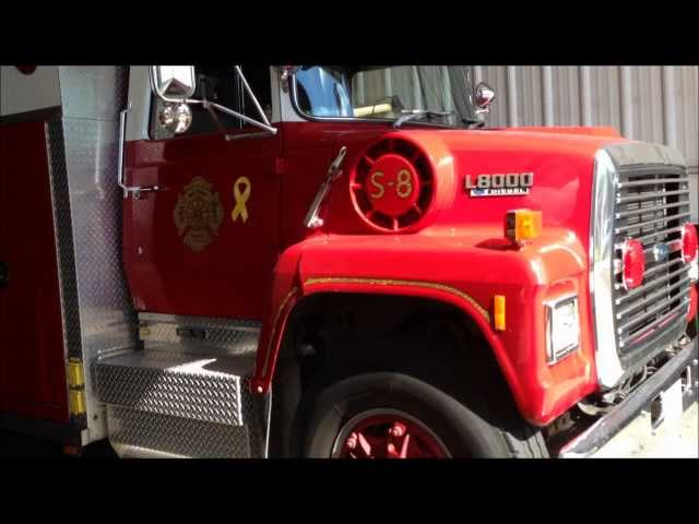 IN HOUSE VISIT TO THE CONNELLSVILLE FIRE DEPARTMENT NEW HAVEN HOSE CO. FIRE HOUSE IN PENNSYLVANIA. Travel Video