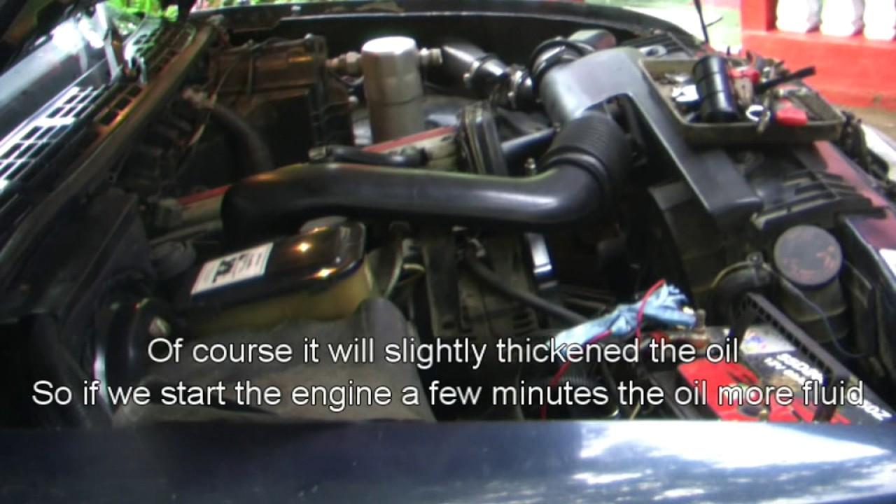 Opel blazer dohc 1997 repair part 1 radiator and oil filter change