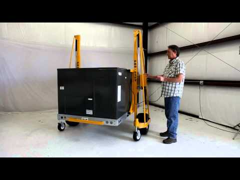 PRO-LIFT - How To Easily Move Commercial HVAC Units Across Rooftops