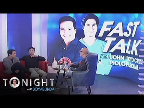 TWBA: Fast Talk with Piolo and John Lloyd