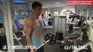 Arm-training für fortgeschrittene - bodybuilding-training - tim-gabel.com