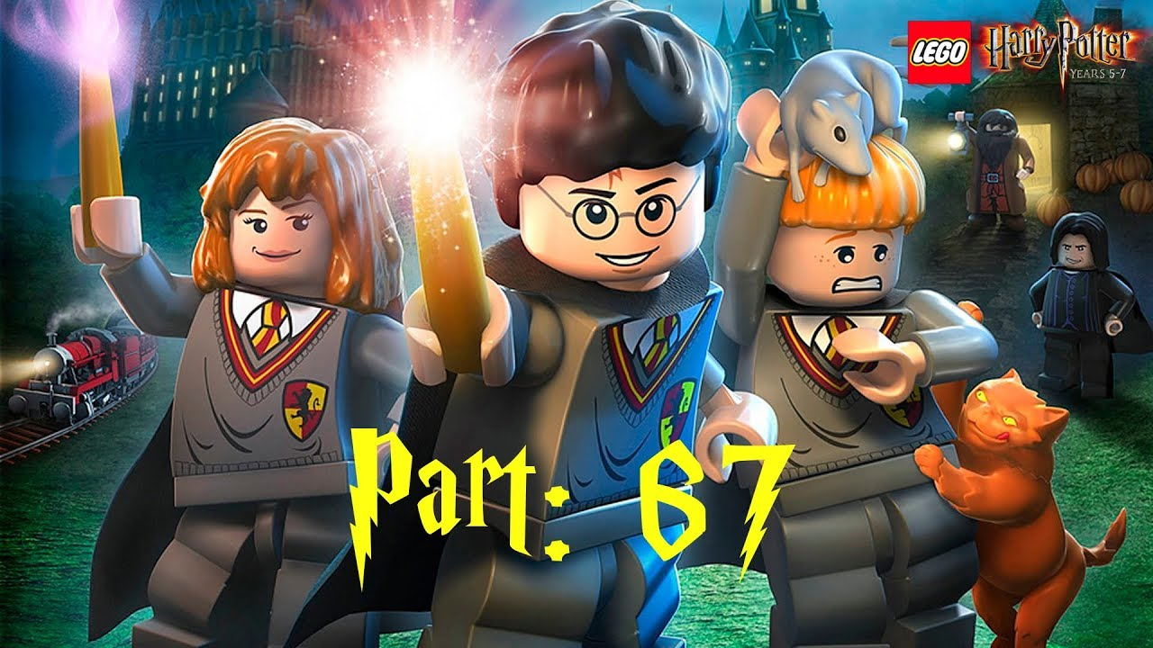Let S Play Lego Harry Potter Jahre 5 7 100 067 Verhangnisvolles Damonsfeuer 100 Teil 2 Youtube