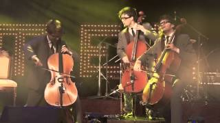 Europe - Final Countdown ( Cello / Drums Cover ) - Melo-M Live