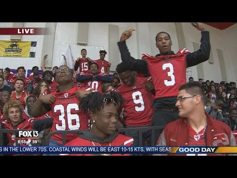 FOX 13 Pep Rally: Clearwater High School
