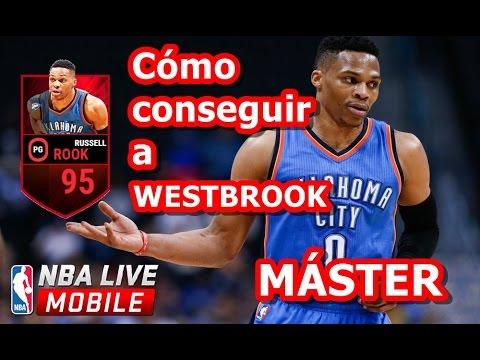 CÓMO CONSEGUIR A RUSSELL WESTBROOK MÁSTER 95 MEDIA en NBA LIVE MOBILE en ESPAÑOL