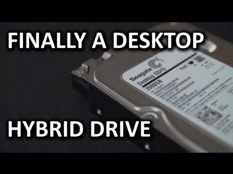 Seagate SSHD Hybrid Drive Unboxing & Technology Explanation