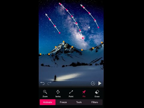 How to apply motion effects in still photos using PixaMotion App for Android