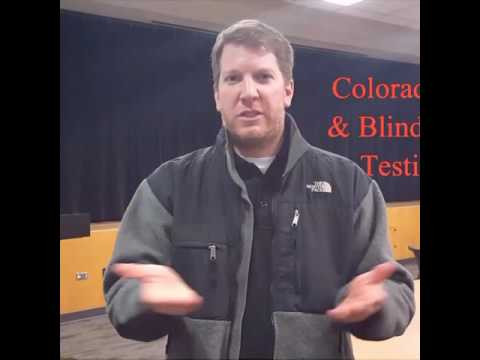 Colorado School for Deaf and Blind Testimony