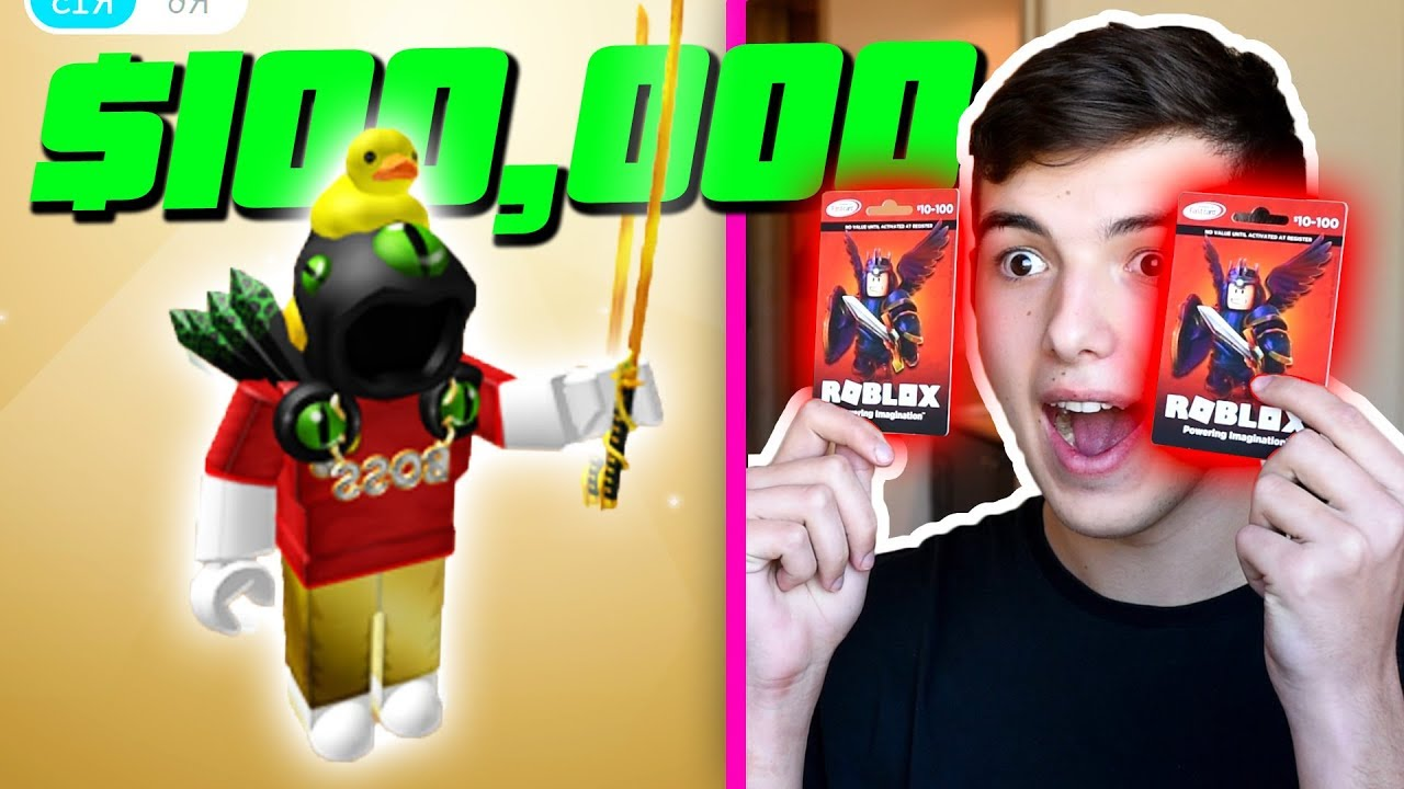 BUYING A DOMINUS with ROBUX GIFT CARDS .. (ROBLOX) - YouTube