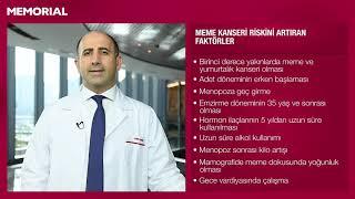 Meme kanseri risk faktörleri nelerdir? - Prof. Dr. Fatih Aydoğan (Genel Cerrahi Uzmanı)