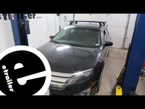 etrailer   Rhino Rack Roof Rack Review - 2011 Ford Fusion