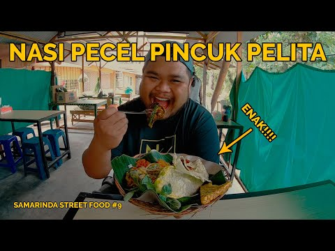 nasi-pecel-pincuk-pelita-||-akhrinya-nemu-nasi-pecel-enak-lagi-|-samarinda-street-food-#9