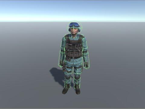 Ragdoll - HitReaction Manager Setup Tutorial Unity 3D