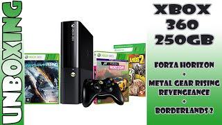 Unboxing - Xbox 360 250GB + 3 jogos