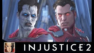 INJUSTICE 2 - BIZARRO VS SUPERMAN ALL INTERACTION/INTRO DIALOGUES