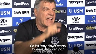 Sam Allardyce Frustrated At Constant Rooney Questions