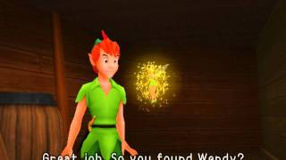 Kingdom Hearts, English cutscene: 153 - Peter Pan - HD 720p