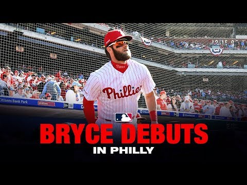 Bryce Harper's Opening Day in Philly