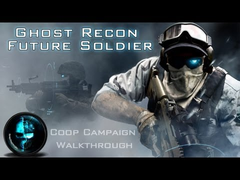 Ghost Recon Future Soldier Part 1- ELITE DIFFICULTY Campaign Co-Op Walkthrough (Xbox 360/PS3/PC)