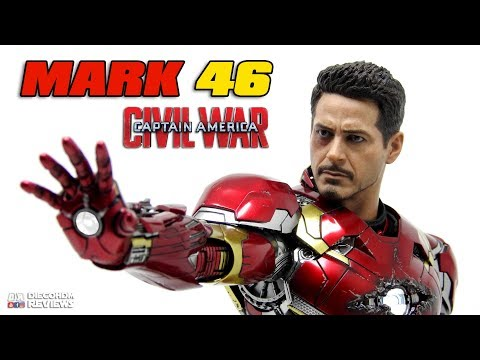 Hot Toys Iron Man MARK 46 Diecast Civil War Review BR / DiegoHDM