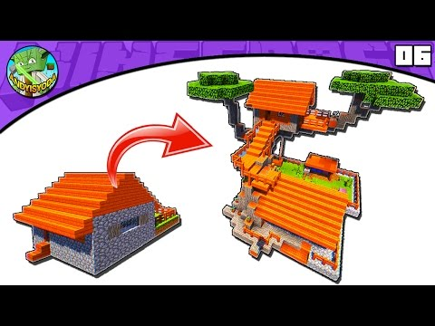 Minecraft Tutorial: Transform an Acacia Village Butcher's House
