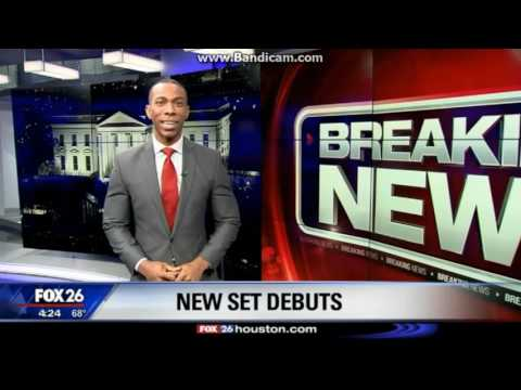 KRIV: FOX 26 Morning News--Tour of our New Set--2017