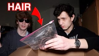 We bought the CREEPIEST mystery box (Dark Web)