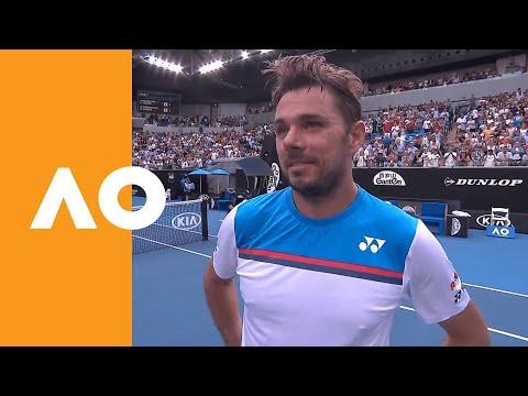 "Stan Wawrinka: ""The Level Was Super High!"" | Australian Open 2020 On-Court Interview R4"